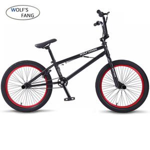волчий клык 20INCH BMX стальной рама Performance велосипед фиолетовая / красный велосипед шины для шоу Stunt Акробатического заднего Fancy уличного велосипеда