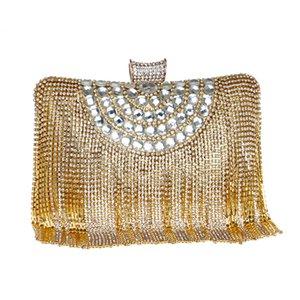 Sacchetto di nappa delle donne della borsa della nappa delle borse di modo delle donne di modo in rilievo borsa di sera di Cluth di piccola festa di giorno per le nozze del partito