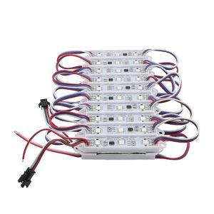 Edison2011 WS2811 2811 IC LED 75 * 15 Modulo String Light 3led / pcs 5050 RGB Pixel Digital Magic Waterproof DC12V