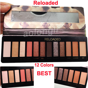 Nuevo Reloaded 12 Colors Eye Shadow Paleta Nude Matte Shimmer Sombra de ojos Reloaded Paleta DHL Shiping Free Shiping