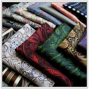 Wholesale sortiertes Mens Einstecktücher Hankies Hanky Handkerchief Large Size-Zusatz Freie Verschiffen Krawatten Krawatten