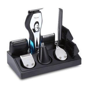 Máquina de corte profissional kemei 11 em 1 máquina de cortar cabelo elétrico trimmer haircut shaver barba razor styling ferramentas usb recarregável j190718