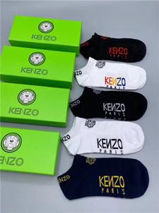 V6 KENZO люксовый бренд дизайнер высокое качество модные носки модные спортивные мужские носки унисекс носки доставка с коробкой