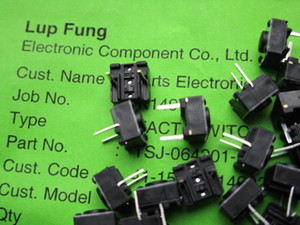 Hong Kong Lup Fung 6*6*4.3 Touch Button Switch middle 2 feet