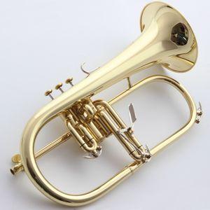 Brand New Professional Bach Флюгельгорн BH-950 Gold Lacquer С Case Профессия Флюгельгорны Bb Yellow Brass Bell