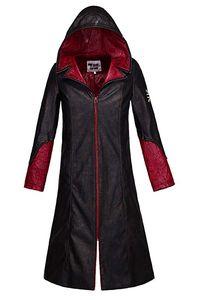 Diabo pode chorar 5 casaco de couro dos homens de Dante jaqueta Cosplay