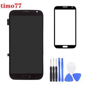 Nueva original para Samsung I9220 N7100 Nota 2 Pantalla LCD de montaje con pantalla táctil digitalizador Asamblea envío