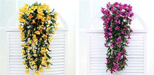 Elegant Artificial Greenish Lily Flower For Wedding Decorations Bouquet Garland Home Ornament Colorful High Quality