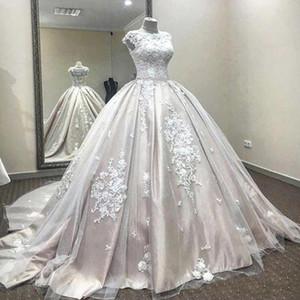 Said Mhamad бальное платье Свадебные платья Arabic Дубай невесты платья для беременных Беременные Свадебные платья сшитое