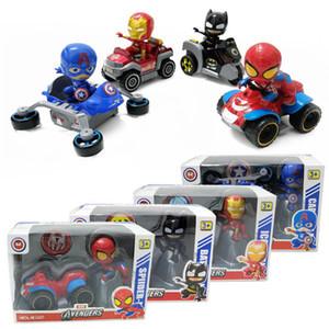 Мстители Metal Pull-обратно автомобиля Автомобиль Супер герой мультфильмов Transformation игрушка спортивный автомобиль модели деформационных детские игрушки Подарочные детские игрушки