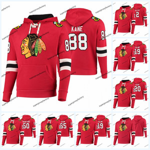 Jonathan Toews Chicago Blackhawks Hoodie Jersey Duncan Keith Andrew Shaw Patrick Kane Connor Murphy Zack Smith Crawford Chaqueta Hockey