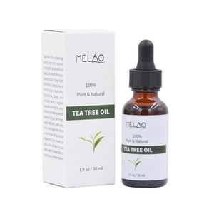 Melao Pure Natural Tea Tree Essential Oil 30ml Face Treatment massage Oil for Any Skin Care 6pcs