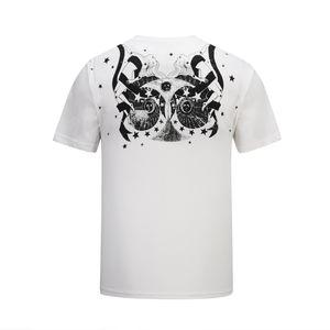 2019 nouvelle mode t-shirts t-shirt décontracté hommes t-shirts mignons yeux broderie streetwear luxe t-shirts hommes femmes chemises à manches courtes @ 74