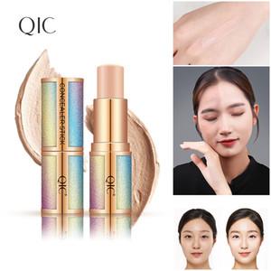 QIC Face Highlighter&Bronzer Stick Shimmer Creamy Waterproof Concealer Glitter Face Contour 3D Highlighter Pen