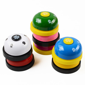 New Dog Ring Bell Dog Training Paw Dog Pet Dogs Training Bell Pets Intelligence Toys Black Red Drop Ship 360059