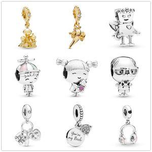 2020 bella bot castle bella little baby Girl Bead fit Original charms silver 925 Suوار trinket DIY women jewelar
