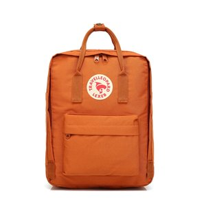Embroidery Style Multicolor Fjallraven Kanken Backpacks Large Capacity Canvas Bags Fashion Students Computer Bags Laptop Backpacks Out #QA860