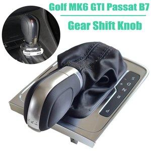 Gear Shift Knob Gaiter Boot Case Collar For Volkswagen VW Golf MK6 MK7 R GTI 2014 Passat B7 CC R20 Jetta MK6 GLI