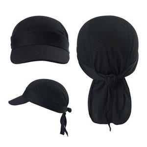 Пот Влагоотведение Велоспорт Hat с страпон Pirate Skull Cap Under Liner