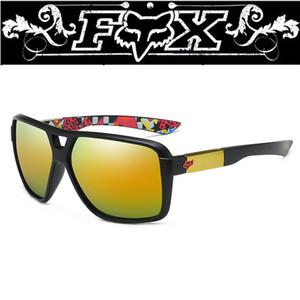 Classic Occhiali da Sole Occhiali da sole Fashion Square sport completi Uomo Donna d'azione Fox occhiali da sole UV400 degli occhiali di protezione Eyewearmale Occhiali da sole