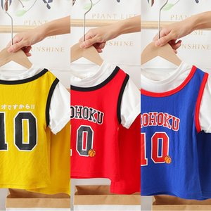uGXGz YRTP children's basketball basketball suit summer clothes 2020 men's and women's baby Sports Leisure training leisure two-piece suit f