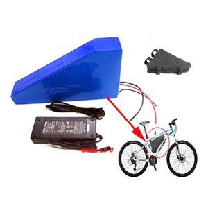 72v 20ah Triangle ebike batería de iones de litio 72v 3000w batería de bicicleta eléctrica con cargador + bolsa para celular Samsung