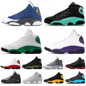 13S جديدة جزيرة كاب الأخضر وثوب الرجال أحذية كرة السلة 13 لاكي الخضراء فرط الملكي ولديك لعبة رجل مدرب الرياضة أحذية رياضية