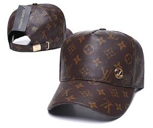Nouvelle marque mens designer chapeaux Snapback réglable casquettes de baseball Été luxe dame de mode chapeau été camionneur casquette femmes causal ball cap