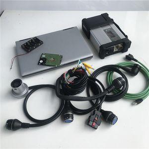 ferramenta de diagnóstico MB Estrela C5 SD Ligue C5 com soft-ware HDD versão 2020.06V DTS Monaco X Vediamo WIS com D630 Laptop 4G RAM