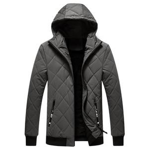 Woodvoice marca Mens Parka caldo di spessore di inverno del rivestimento degli uomini vestiti 2020 casuale incappucciato modo di alta qualità del cappotto degli uomini della tuta sportiva 4XL