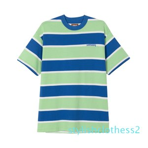 20SS Andy Style GOLF-WANG TEE BIG STRIPE Short Sleeve T-shirt Fashion High Quality Mens And Women Couple T-Shirts t01