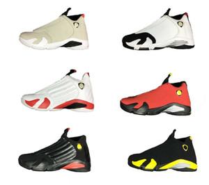 14 hommes chaussures de basket-ball femmes 14s Desert Sand dernier coup forme de voiture rouge blanc noir tonnerre avec Box gym formateurs hommes