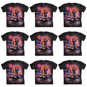Erkekler Donald Trump Tişörtlü 3D Baskılı Homme O-Yaka Kısa Kollu Gömlek Pro Trump 2020 Tişört Trump L-JJA2067 Tops