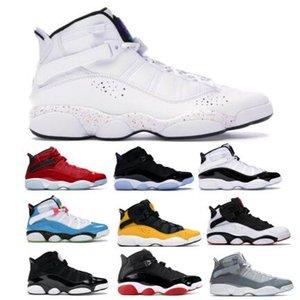 2020 6 6s Halkalar Basketbol Ayakkabı Jumpman Altı Konfeti Taksi Concord Space Jam South Beach tanımlanması Anlar Beyaz İçin Erkek Kadın Sneakers