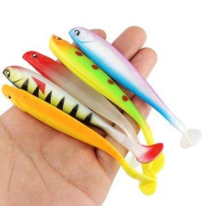 Cheap Fishing Lures 5pcs lot Soft Swin Fishing Lure 10g 12cm Soft Bait Silicone Bass Pike Minnow Swimbait Plastic Lure