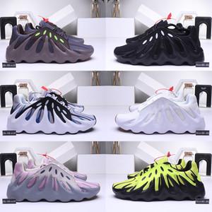 451 Kanye West Erkekler kadınlar için volkan tasarımcı koşu ayakkabıları dalga koşucu Mauve Üçlü Siyah Vanta erkek eğitmenler spor sneakers