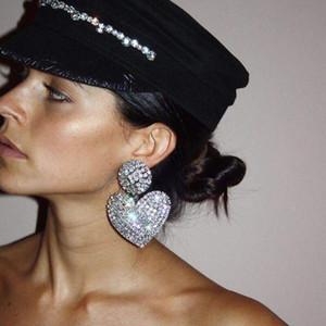 forme de coeur sexy boucles femmes bijoux design de luxe concepteur paire pour boucles d'oreilles boucles d'oreilles de créateurs de haute qualité cadeau de mariage