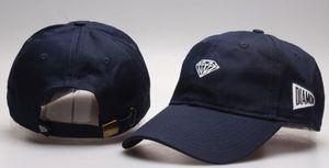 Neueste Diamant Kappe aus 100% Baumwolle Klassisches Baseballcap Pyramide Stickerei Kappen für Männer Frauen Kappe Schwarz Hysteresenhut casquette Visier gorras Knochen