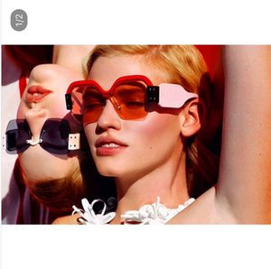Hot sellingfashion avant-garde designer sunglasses 09s women favorite eyewear trend color splicing semi-frame glasses top quality