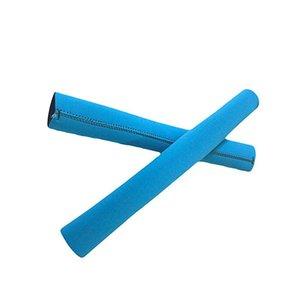 1pcs Paddle Sapları için Take-Apart Kayık Paddle Şaft kaymaz Blister Önleme Kayık Kano Oar Kapak Sleeve