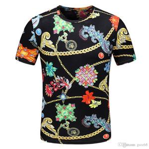 Melhor designer de Itália camisa polo t camisas Designer Marca cobra abelha floral bordado mens polos Moda de rua de alta listra impressão polo T-shi