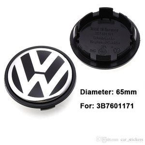 56 milímetros 65mm Car Center Roda Cap Hub Caps Covers emblema para VW 3B7601171 1J0601171 6N0601171 5G0601171 6CD601171 Acessórios Car
