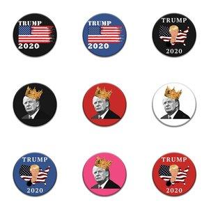 Introverti émail Pin Noir Blanc Trump Badge Trop Peopley Vêtements Sac Broche épinglette Punk bijoux cadeau pour les introvertis Amis # 591