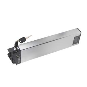longitud 410 mm Electricidad MATE ebike reemplazo de la batería de 36V 13Ah para la bici del motor de 250W a 650W MATE con el cargador