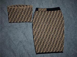 FF Jacquard Knit Sweaters per Lady Women Pullover Tops Coat per maglioni femminili da donna
