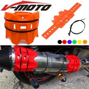 Universal Para EXC-F / EXC / SX-F 450/350/530/525/500 Motos Acessórios / Round Oval escape Protector pode cobrir