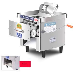 2020 neue ultradünne 2mm Edelstahl kommerzielle Fleisch-Schneidemaschine kleiner Haushalts-Fleisch-Schneidemaschine handgekrankte Fleisch-Schneiden von Machi