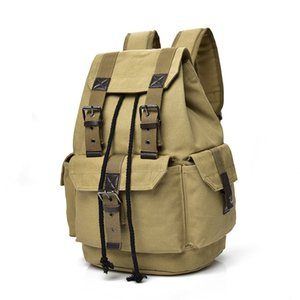 Free2019 Both Canvas Shoulders Backpack Men And Women Leisure Time Travel Plum Will Capacity First High School College Student A Bag Take