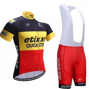 2020 8 Colors Pro Cycling Wear Team Etixx Cycling Jersey Bib Shorts Set Ropa Ciclismo Men Summer Breathable Cycling Clothing Maillot