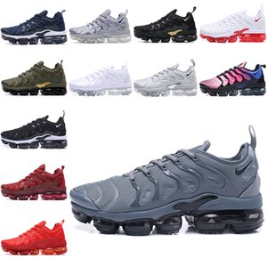 Nike Air TN Plus TN Artı Erkekler Kadınlar Kraliyet Smokey Leylak Dize colorways Zeytin In Metalik Üçlü Beyaz Siyah Eğitmen Spor için spor ayakkabıları Koşu